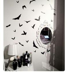 My aesthetic . . . #goth #gothic #gothroom #mirror #bat #creepy #cute #creepycute #pastel #paatelgoth #mood #aesthetic #grunge #emo