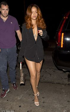Awkward much? Scantily-clad Rihanna and rumoured beau Karim Benzema arrive at the same nightclub where ex-boyfriend Chris Brown is partying   Daily Mail Online