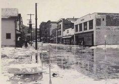 1959 flood, Kittanning, Pa