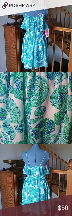"""NWT Lilly Pulitzer Target Sea Urchin Pattern Dress NWT Lilly Pulitzer for Target dress in the print """"Sea Urchin for You"""". Size S. Lilly Pulitzer for Target Dresses"""
