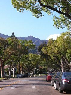 Verdugo Hills North of Glendale, California