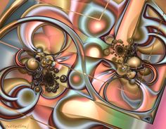 Untitled 3d fractal art Mandelbulb3d Paul Griffitts www.frackxion.com Desktop Backgrounds, Iphone Wallpaper, Mandalay, Color Art, Deviant Art, Design Thinking, Fractal Art, Optical Illusions, Mind Blown