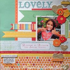 Start Summer with This Lovely Scrapbook Layout from @Latrice Gray Murphy