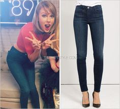 Loft '89 | Kansas City, MO | September 21, 2015 3x1 'W3 High Rise Channel Seam Skinny in No.3′ - $235.00 The pair of jeans that many of you screamed over! Taylor's high-waisted pair are by denim brand 3x1. Worn with: Ronny Kobo top Check out similar...