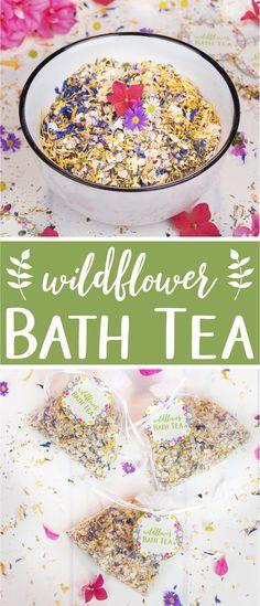 Herbal bath tea reci