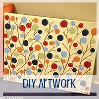 DIY Artwork // Love From Home