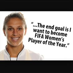 looks like Carli Lloyd is going to earn her goal! Soccer Quotes, Sport Quotes, Soccer League, Soccer Players, Famous Sports Quotes, Carli Lloyd, Play Soccer, Under Pressure, Get In Shape