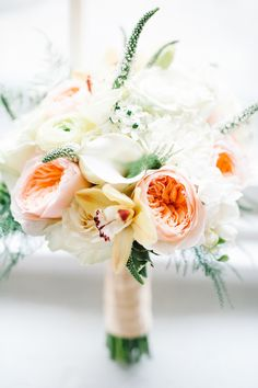 #calla-lily, #garden-rose, #bouquet  Photography: Brklyn View Photography - brklynview.com  Read More: http://www.stylemepretty.com/2013/05/31/bronx-wedding-from-brklyn-view-photography/