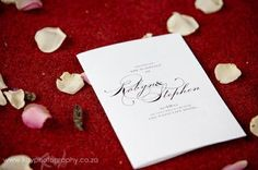Robyn & Stephen's Westcliff Wedding - Canvas Stationery Boutique Wedding Canvas, Place Cards, Stationery, Place Card Holders, Boutique, Ideas, Paper Mill, Stationery Set, Office Supplies