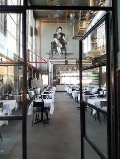 A restaurant in a former factory | Mama Kelly - The Hague
