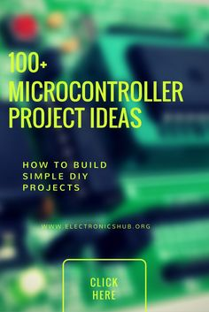 100+ Microcontroller Based Mini Projects Ideas