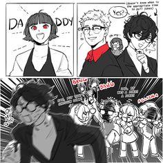 Joker se encuentra con la familia Niijima. (AU): Persona5