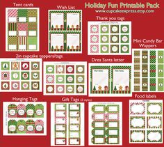 printable christmas package!