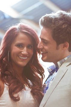 Kelsey's and Caleb's engagement photos - the way he looks at her