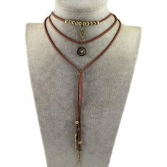 gift idea 90s choker necklace Choker necklace with a gold pyramid bead Faux leather necklace for women Gold square charm choker necklace