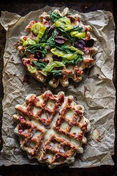 Gluten-Free Pizza Waffle