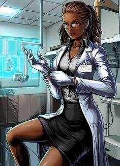 Top Black Female Superheroes: cecelia ryes, natasha irons, pantha and wildstreak