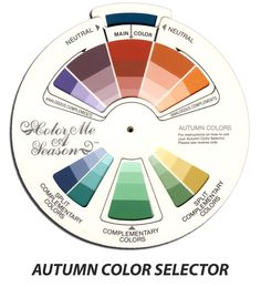 Color Selector - Autumn - Color Me A Season Store