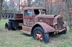 Nothing to do with cooking Old Autocar Tags: abandoned truck massachusetts dumptruck vehicle autocar dumper bernardston you can find simil. Antique Trucks, Vintage Trucks, Old Trucks, Antique Cars, Abandoned Train, Abandoned Cars, Abandoned Vehicles, Abandoned Places, Trains