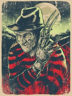 Freddy Krueger: My childhood NIGHTMARE!  But, man, do I LOVE him!
