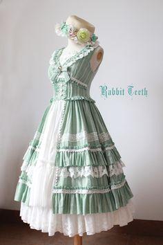 Fantastic Wind -Swinging Vines- Classic Lolita Jumper Dress