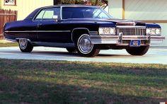 1973 black coupe devile cadillac | photo