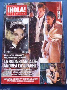 ANDREA CASIRAGHI CAROLINA HERRERA KEANU REEVES LOLA PONCE CAMERON DIAZ HOLA MAG