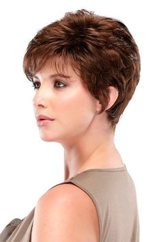 Bree - Capless Wig - This short pixie has loads of layers for lots of styling options!  And over 40 colors to choose from! - WigStudio1.com