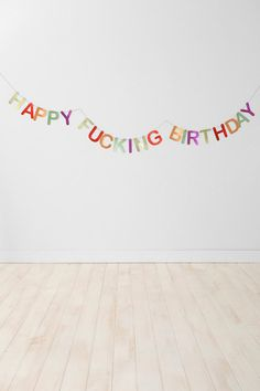 Party Banner #urbanoutfitters