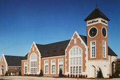 Handmade Brick on Award Winning Bank in Oklahoma City