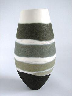 Ceramic artist Sue Scobie, wellington new zealand Ceramic Pots, Ceramic Pottery, Coil Pots, Ceramic Techniques, Ceramic Artists, Vases Decor, Earthenware, Creations, Decoration