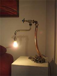 Lampade: vecchia rubinetteria