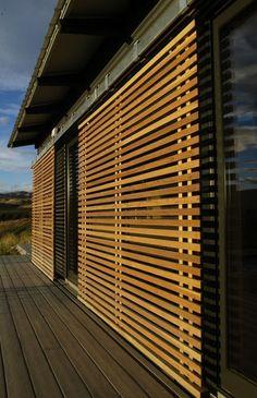 sunscreen at glidehouse Zen House, Tiny House Cabin, House Extension Design, House Design, Sunroom Kits, Porch Shades, Shading Device, Small Balcony Design, Aluminium Doors