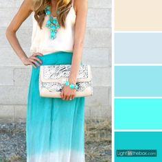 Do Branco ao Azul As incríveis cores da liberdade!