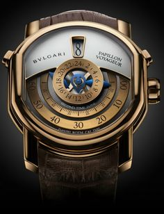 At The Touch Of Love - Bulgari Papillon Voyageur Watch (Limited Edition)