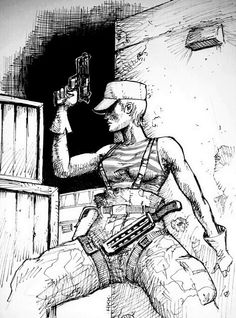 #MGS2 #OlgaGurlukovich drawing by me