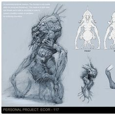 The Guropa, Bobby Rebholz Creature Feature, Creepypasta, Bobby, Creatures, Artworks, Projects, Sketch, Ideas, Africa