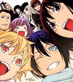 """Noragami"" (My rating: 8) Holly dang, I'd even recommend this to my neighbor's dog! I got my roommate hooked on anime with this one! A must watch. (Maturity Rating: 13+)"