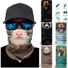 2018 Seamless Beanie Snood Headwear Neck Bandana Scarf Tube Mask Cap Muffler Anti-uv Bandana Scarves Neck Gaiter Vivid And Great In Style Apparel Accessories