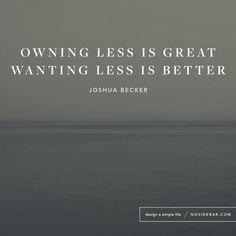 Less- a minimalism blog                                                                                                                                                                                 More
