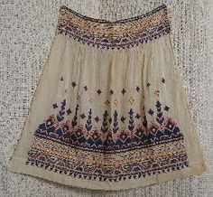 romanian embroidered apron