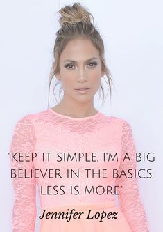 Jennifer Lopez reveals one of her favorite beauty tips..                                                                                                                                                      More