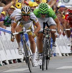 Mark Cavendish..winner on the Champs (2012)