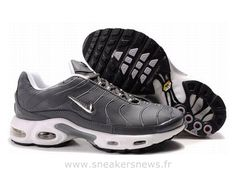 buy popular f17f0 8f980 Chaussures de Nike Air Max Tn Requin Homme Gris foncé Tn Pas Cher