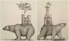 """381 curtidas, 1 comentários - Arte Sem Fronteiras (@artesemfronteiras) no Instagram: """"Artwork (drawing) by Adonna Khare Instagram : @AdonnaKhare Facebook : Adonna Khare Artist Site :…"""""""