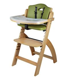Look at this Abiie Natural Beyond Junior Y High Chair on #zulily today!