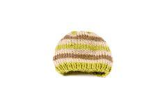 Green knitting hat