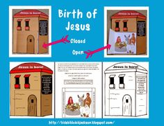 This is one of the Birth of Jesus lessons available with the lesson, visuals, ideas and printables. Bible Object Lessons, Sunday School Activities, Birth Of Jesus, School Days, Cool Kids, Tv, Homeschool, Printables, This Or That Questions