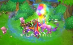 Whimsyshire (Diablo 3) those unicorns are viscously magical little beasts! Lol
