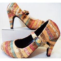 High Heels Songket | Model Sepatu Wanita Terkini